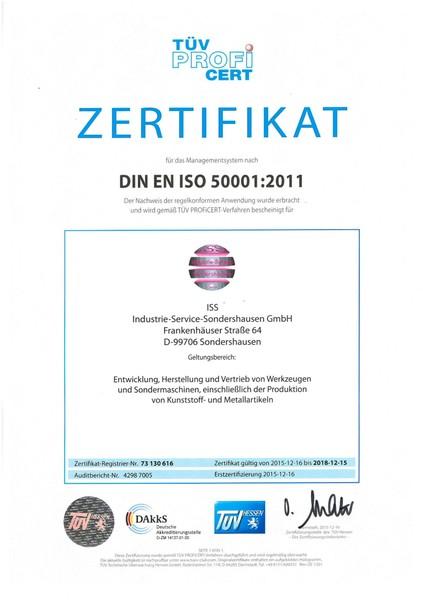 Zertifizierung - ISS GmbH